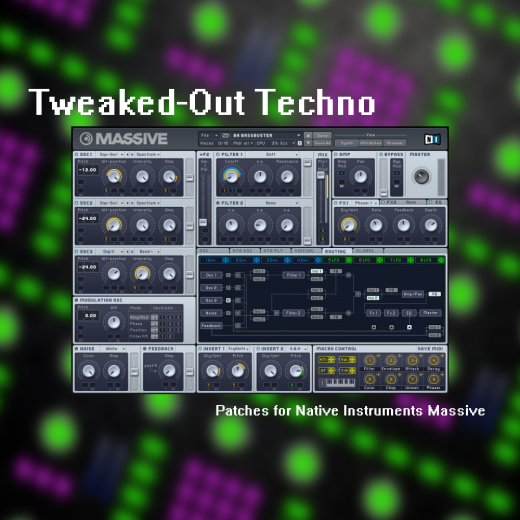 Tweaked Out Techno Cover