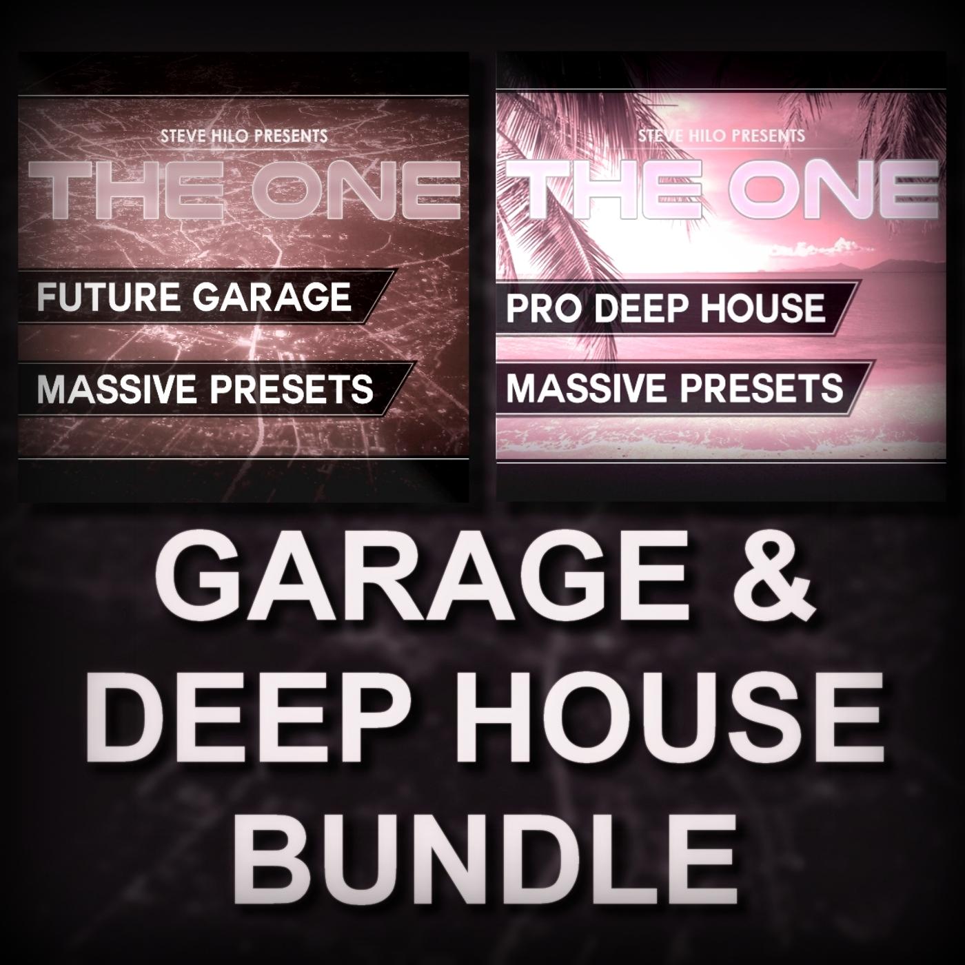 Garage & Deep House Bundle - filtered